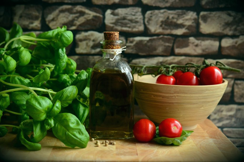 Olive Oil blends well with salads