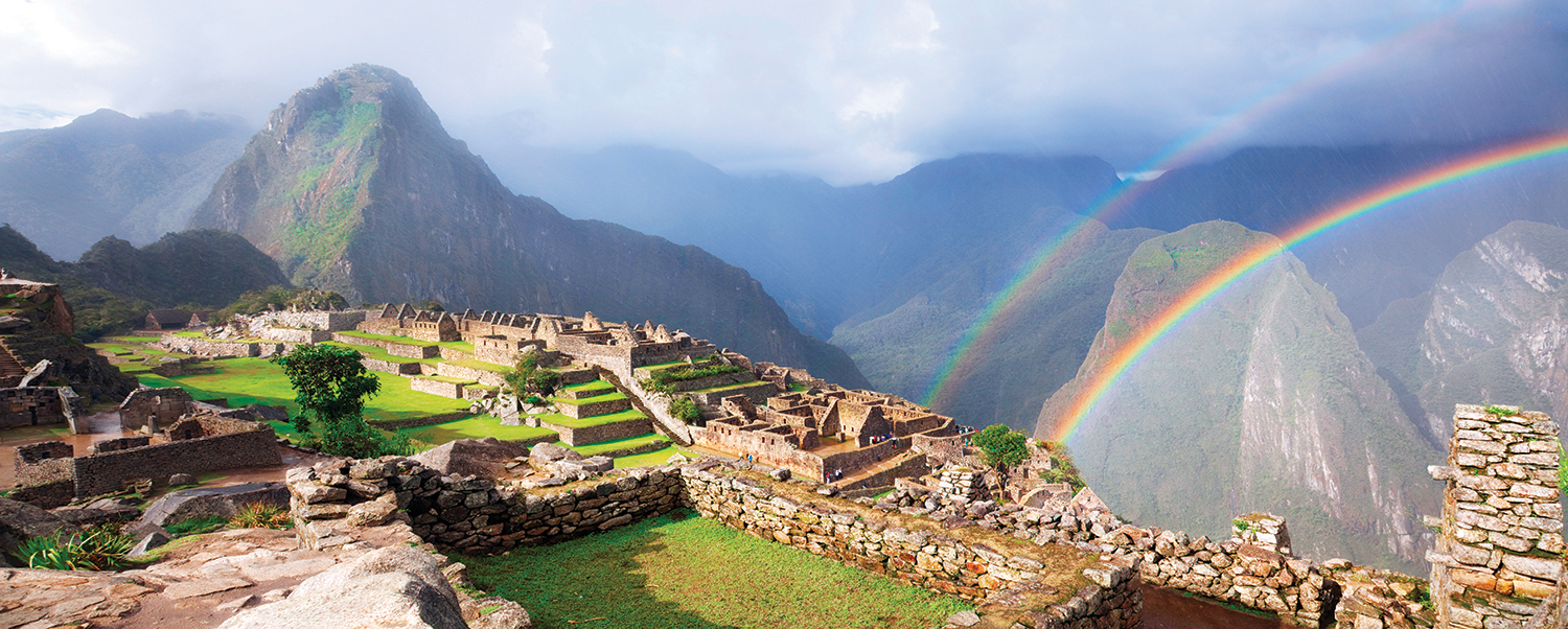 The Splendor of Ruins at Machu Picchu