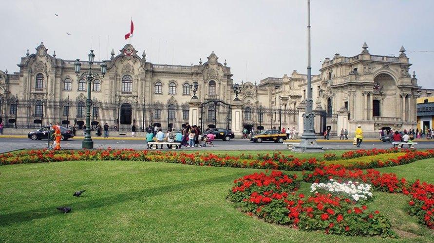 Lima, a city of squares