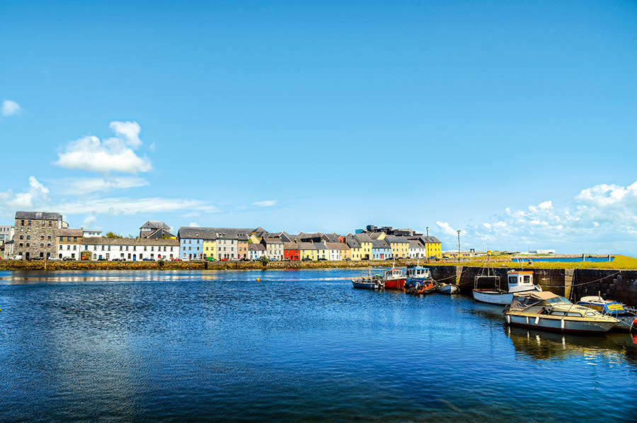 Galway - View from the Sea