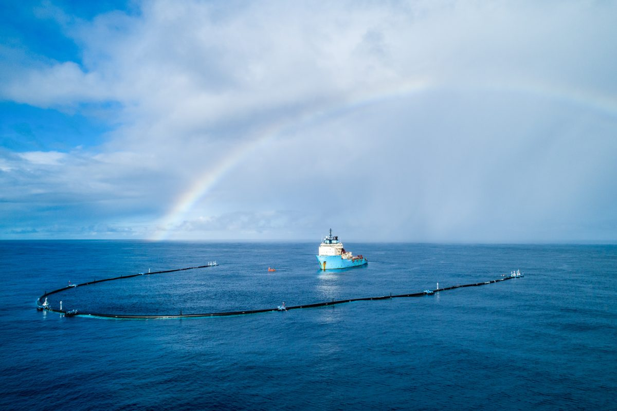 Picture Courtesy - The Ocean Cleanup
